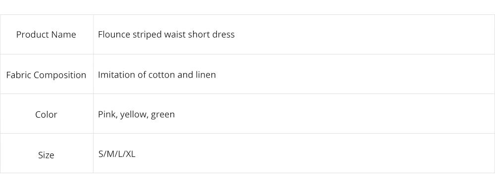 Romantic Off Shoulder Flounce Ruffle Striped Waist Summer Casual Wrap Dress Snap In Front Short Skirt For Women 8