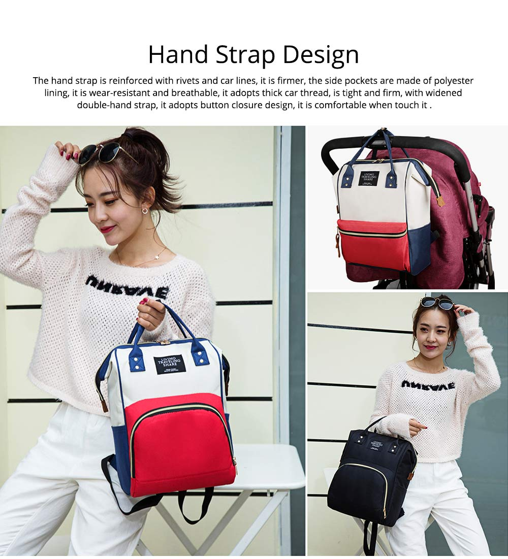 Large Capacity Multi Function Waterproof Travel Nappy Backpack Baby Maternity Diaper Mommy Bag For Outdoor Nursing 6
