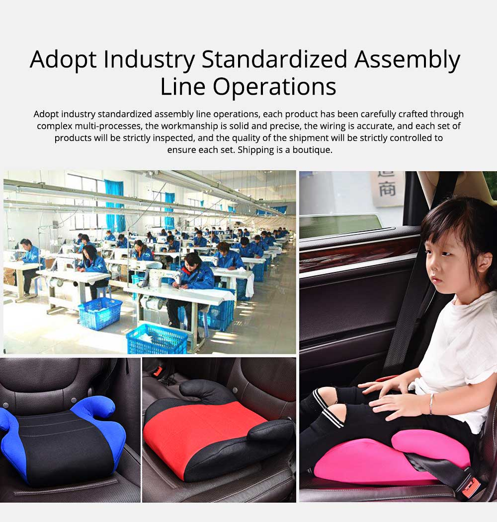 Infant Car Safety Seats Booster Children Heighten Pad for 3-12 Years Kids Safety Products Suit With ECE Certificate 9