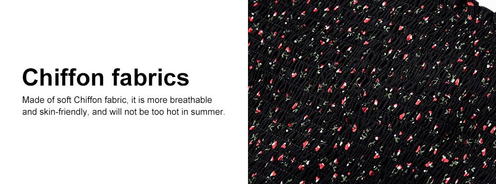 Super-short Chiffon Jacket 2019 Summer Autumn Slim Floral Retro Chiffon Blouses With Bell Sleeve 2