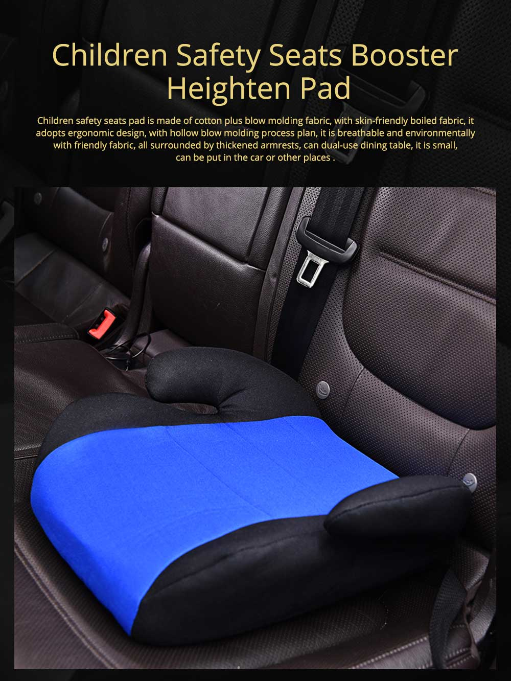 Infant Car Safety Seats Booster Children Heighten Pad for 3-12 Years Kids Safety Products Suit With ECE Certificate 0