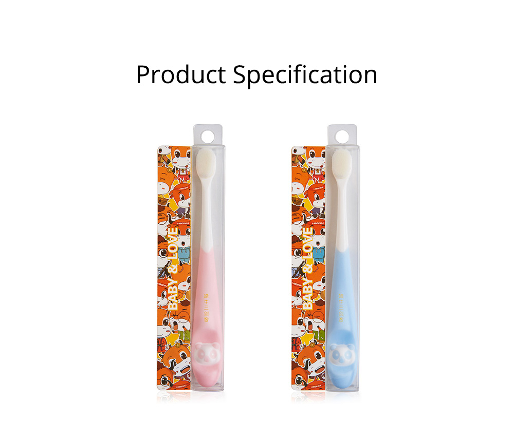 New Child Panda Pattern Toothbrush Small Simple Soft Head Bristle Lovely Promotion For Kids Children 6