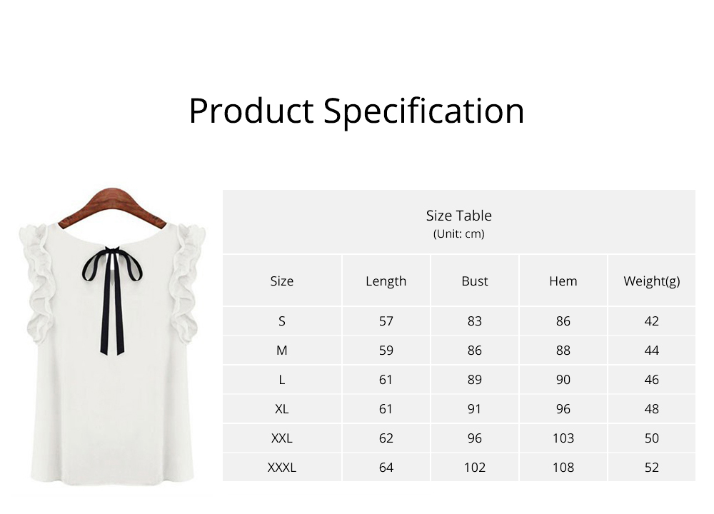 Summer Women Casual Chiffon Blouses Bow Lace Solid Sleeveless Office Lady Shirts Women Tops Cheap Clothes Plus Size For Female 6