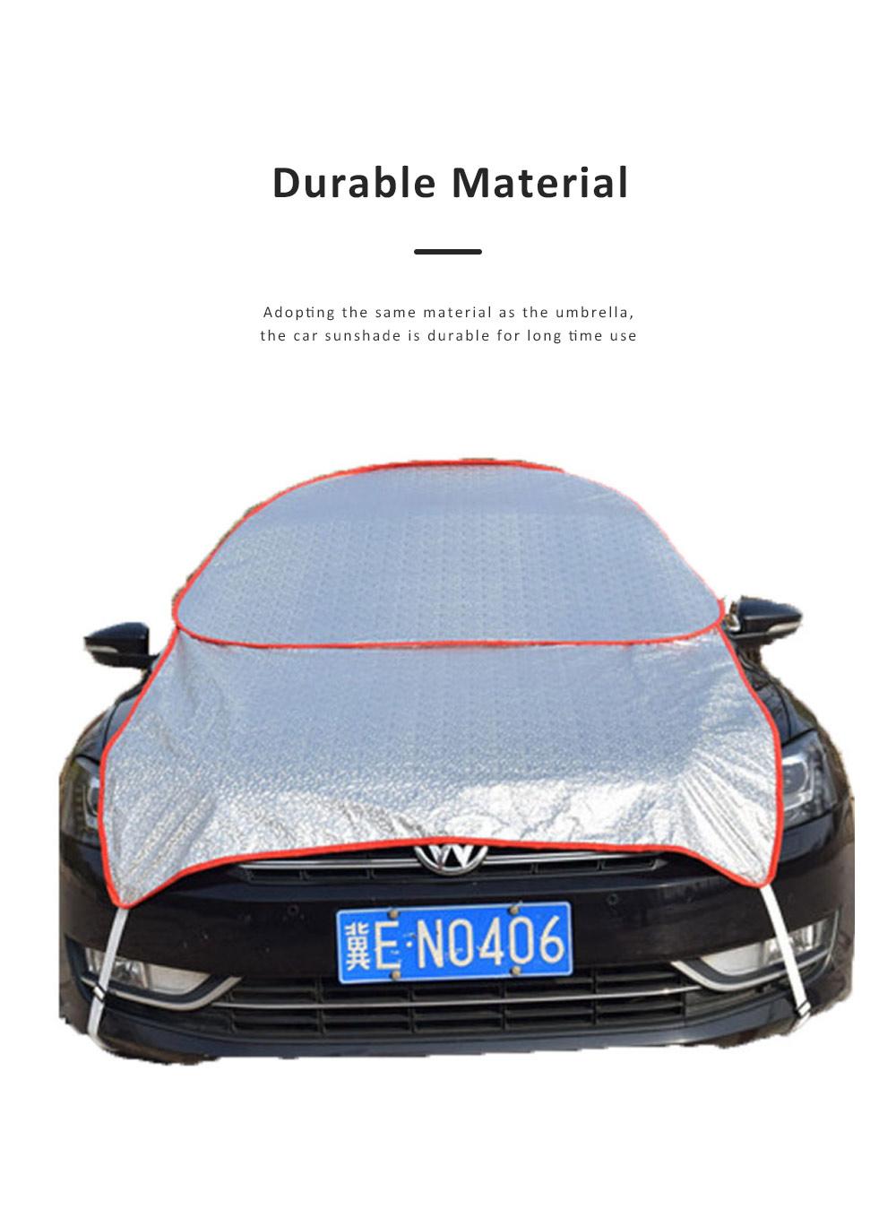 Universal Car Sunshade UV Ray Protector Cooler Umbrella Fabric Sunshade for Cars 3