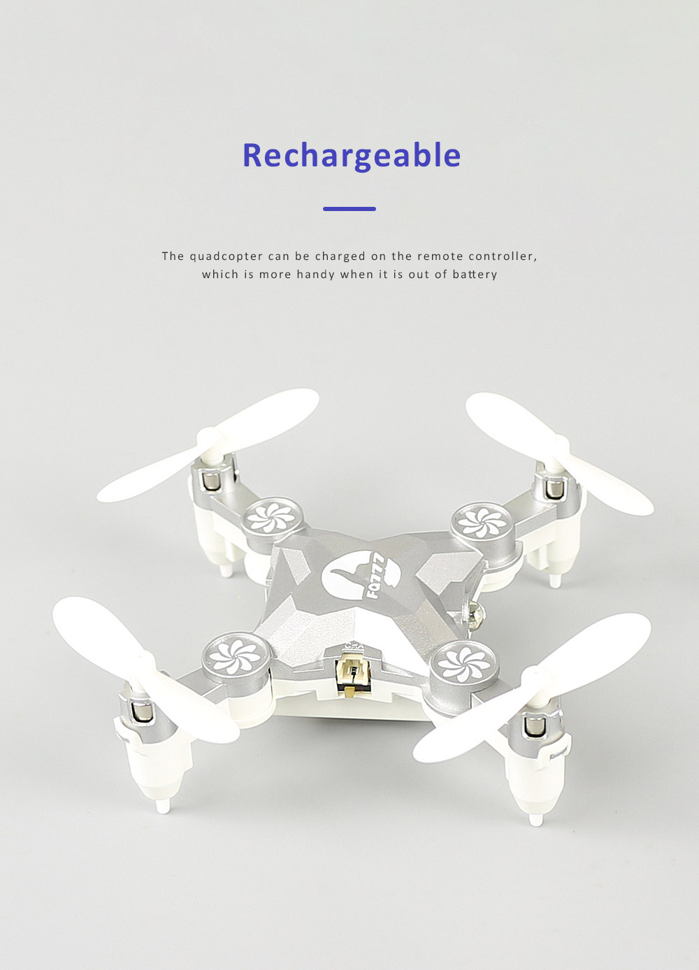 Unmanned Aerial Vehicle Mini Remote Control Foldable Quadcopter Portable 6 Axis Flying Toy 6