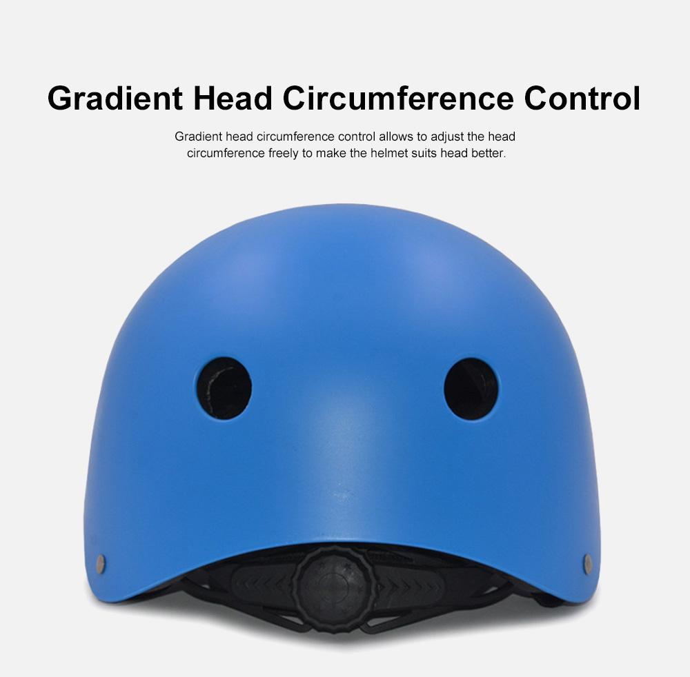 Roller Skating Helmet for Adult Children, Crash Helmet for Sliding Plate Floating Professional  Headpiece for Hip-hop Head Protector 4