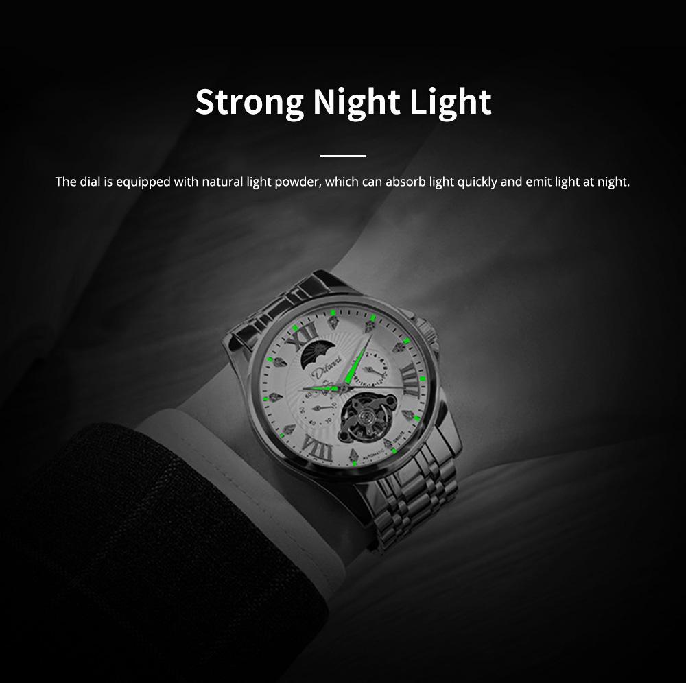 Classic Men's Watch Swiss Flywheel Machinery Watch Fully Automatic Machinery Watch Swiss Geneva Ribbon Machinery Watch 2