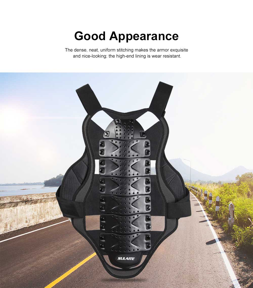 Motocross Body Armor for Roller Skating Motorbike Riding Combined Back and Spine Protector Sports Safety Armor Racing Safety Armor Chest Protector 1