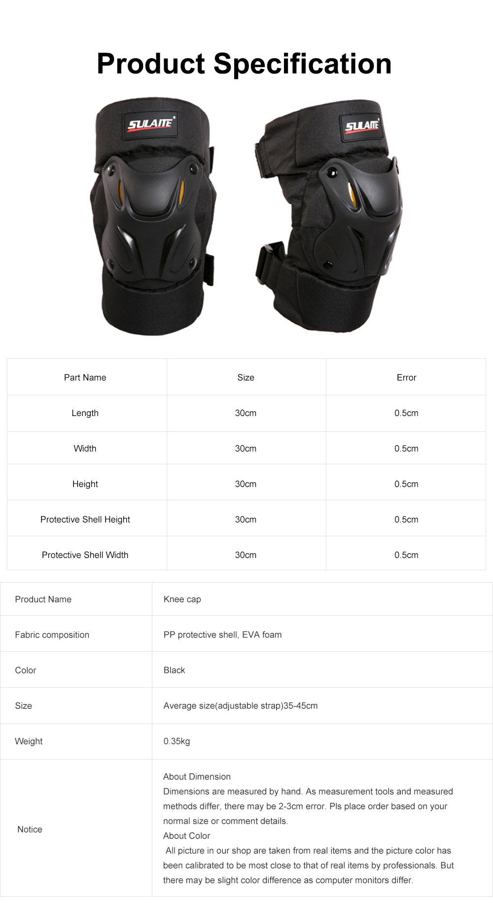 Motorbike Anti-stumbling Kneecap Outdoor Roller Skating Protective Clothing for Knees Heat Resistant Knee Cap Impact Resistant Knee Pads Knee-cap 6