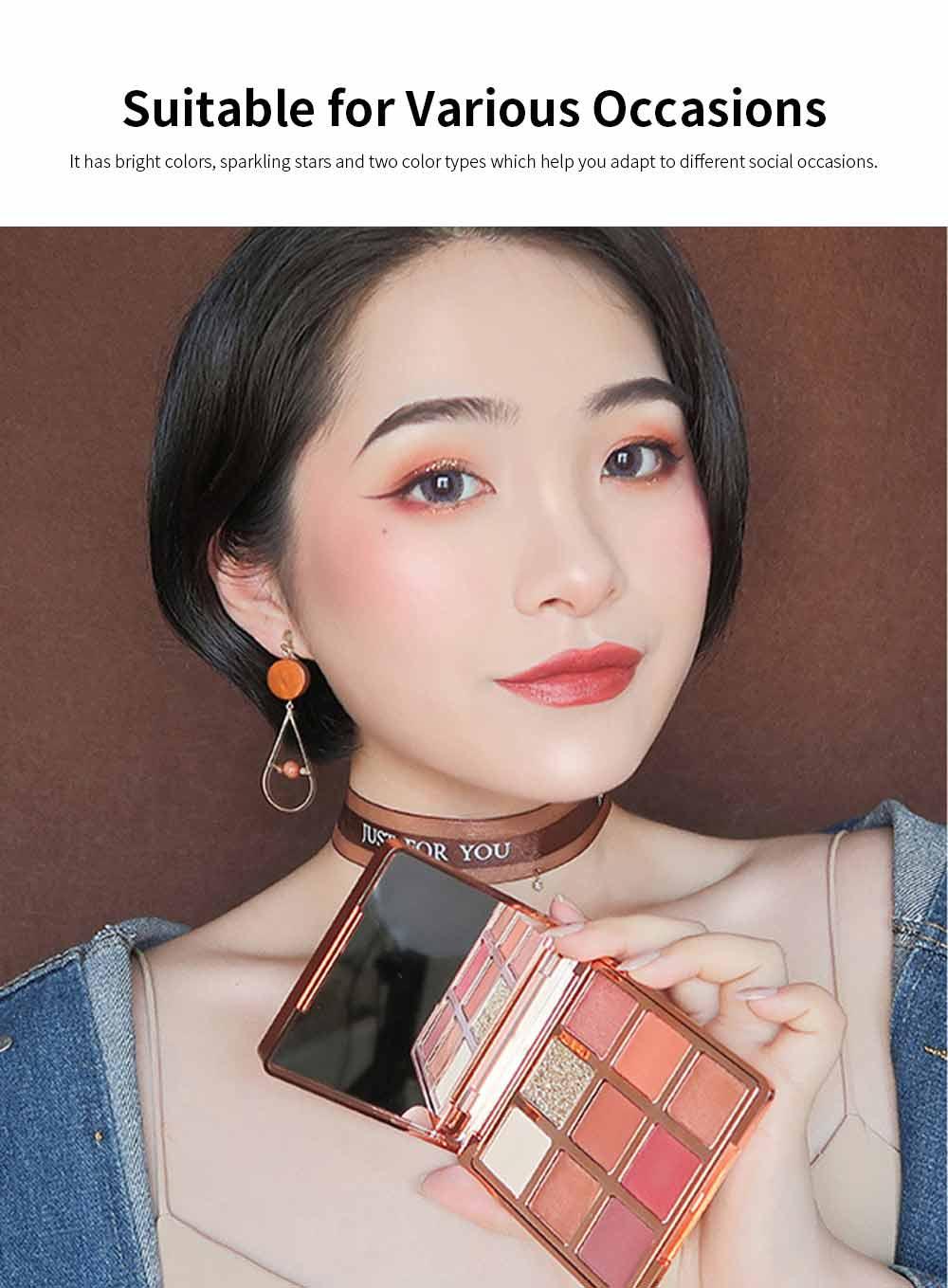 9 Color Eye Shadow & Mascara & Lipstick Set Beauty Makeup Birthday Cosmetic Gift Box Set 4