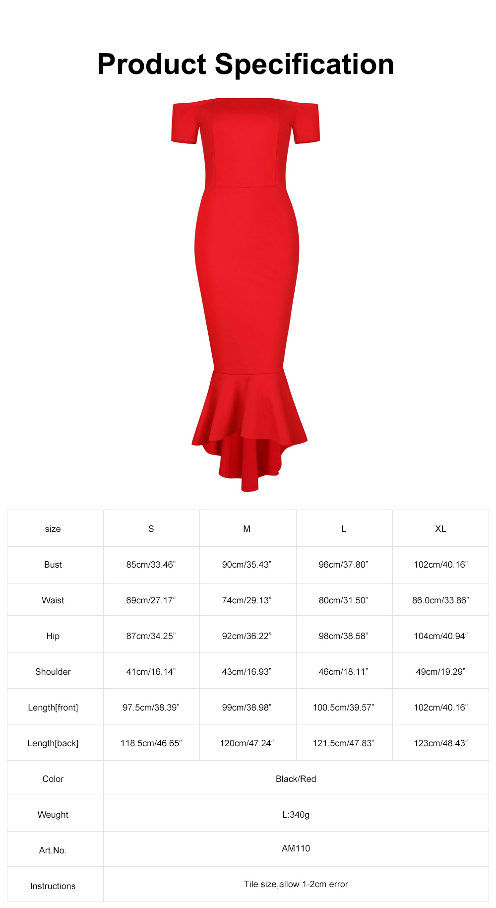 New Style One-piece Dress for Party Western Style Evening Formal Dress Amazon Best-selling Off Shoulder Short Sleeve Fishtail Skirt Evening Dress 6