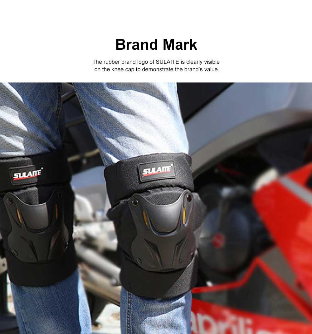 Motorbike Anti-stumbling Kneecap Outdoor Roller Skating Protective Clothing for Knees Heat Resistant Knee Cap Impact Resistant Knee Pads Knee-cap 1