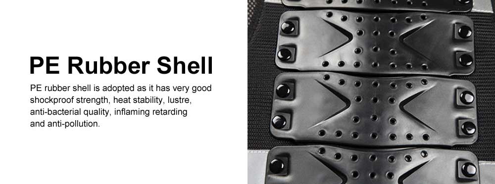 Motocross Body Armor for Roller Skating Motorbike Riding Combined Back and Spine Protector Sports Safety Armor Racing Safety Armor Chest Protector 2