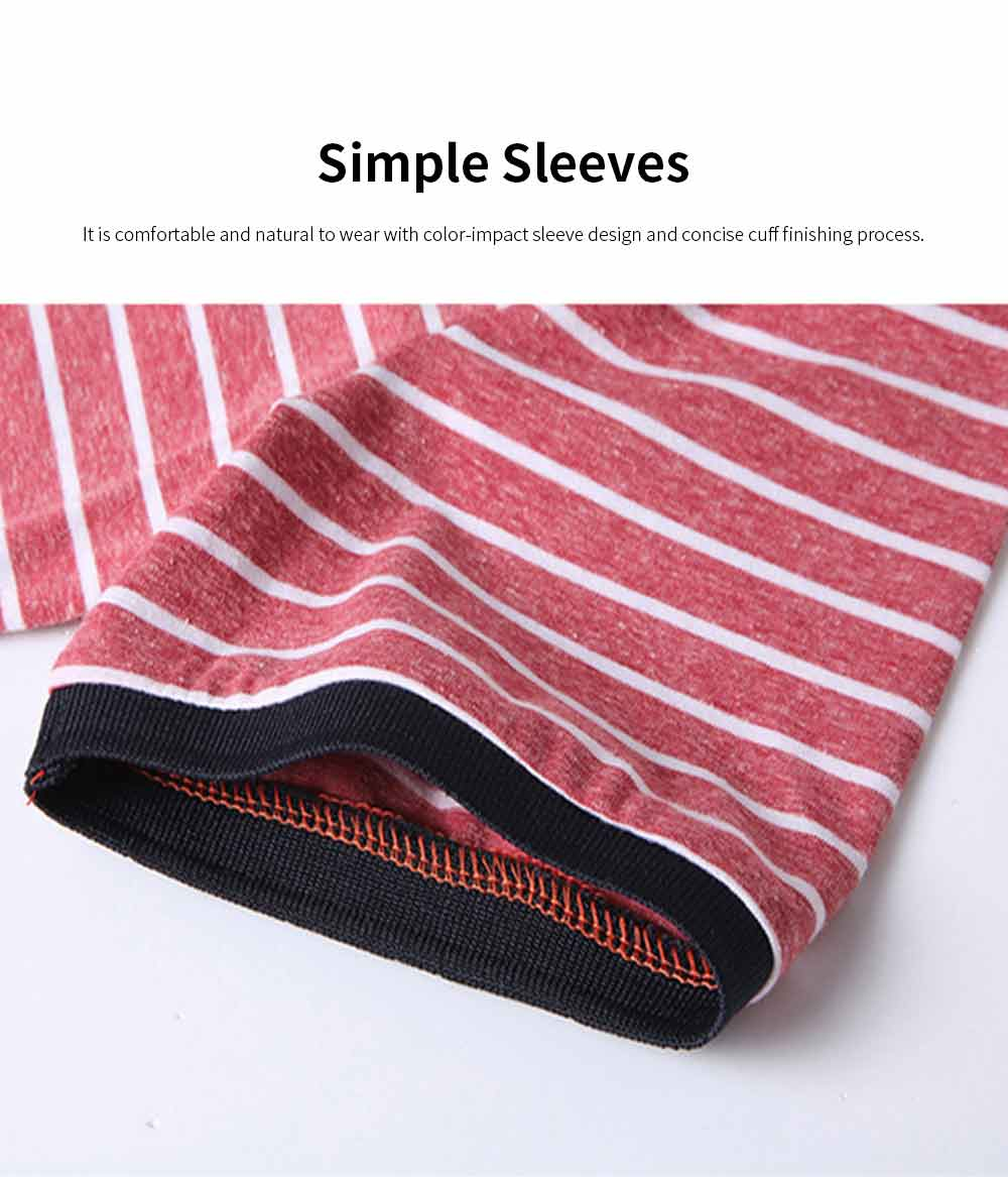 Men's Casual Short-Sleeved Polo Shirt Korean-Style Fashionable Striped Shirt For Summer 3