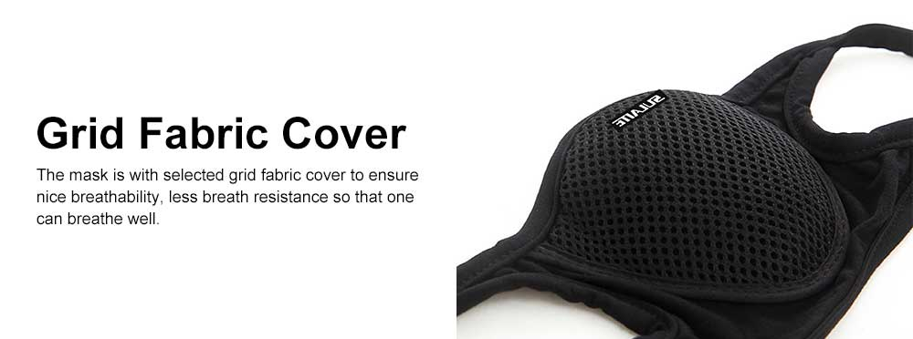 SULAITE Anti-dust & Anti-smog Masks for Outdoor Bicycle Riding Sand Prevention Protective Gauze Mask Breathable Comfortable Mouth-muffle PM2.5 Respirator 6
