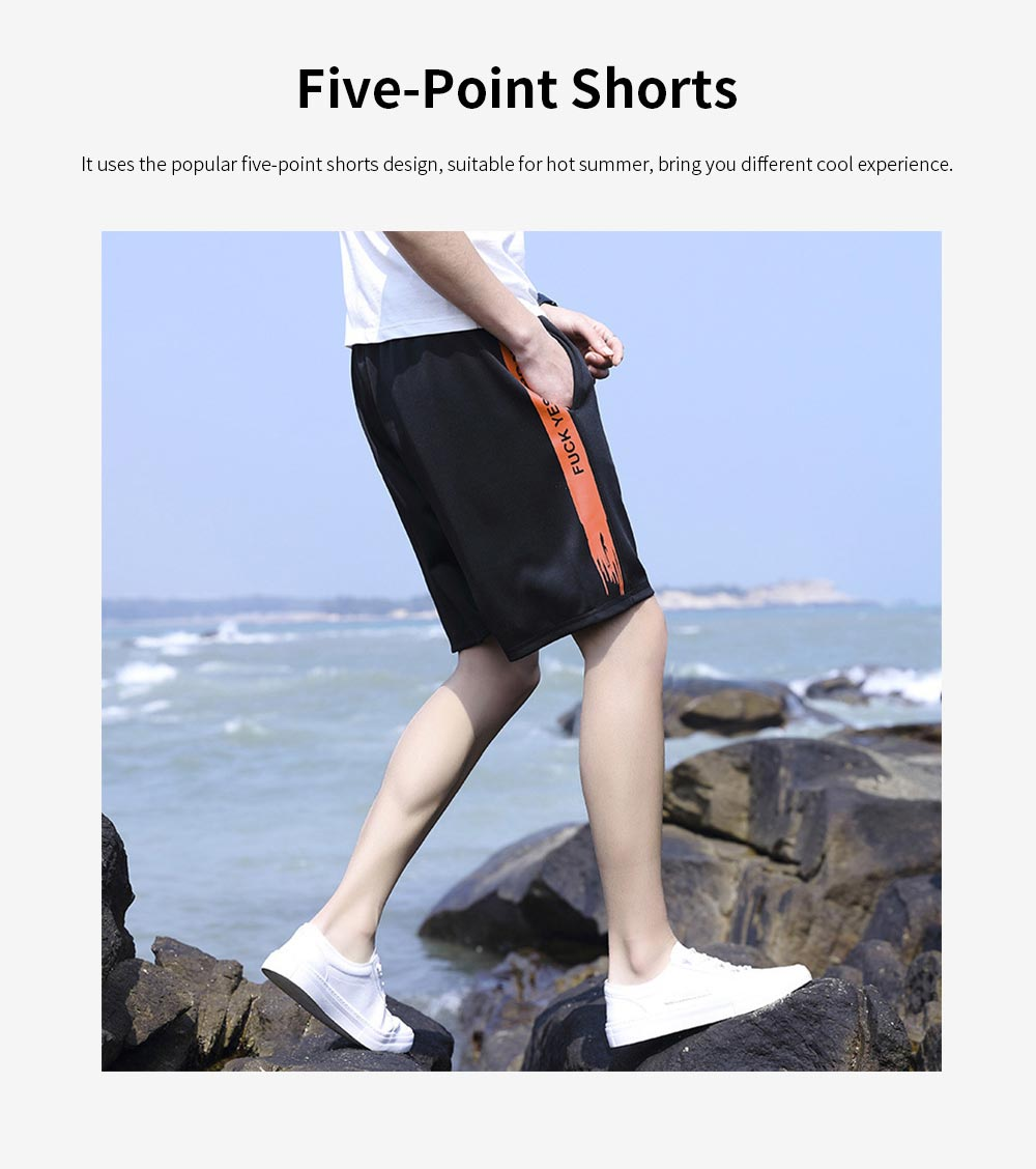 Men's Sports Style Shorts Students' Five-Point Shorts New Fashion Simple & leisure Pants For Summer 2
