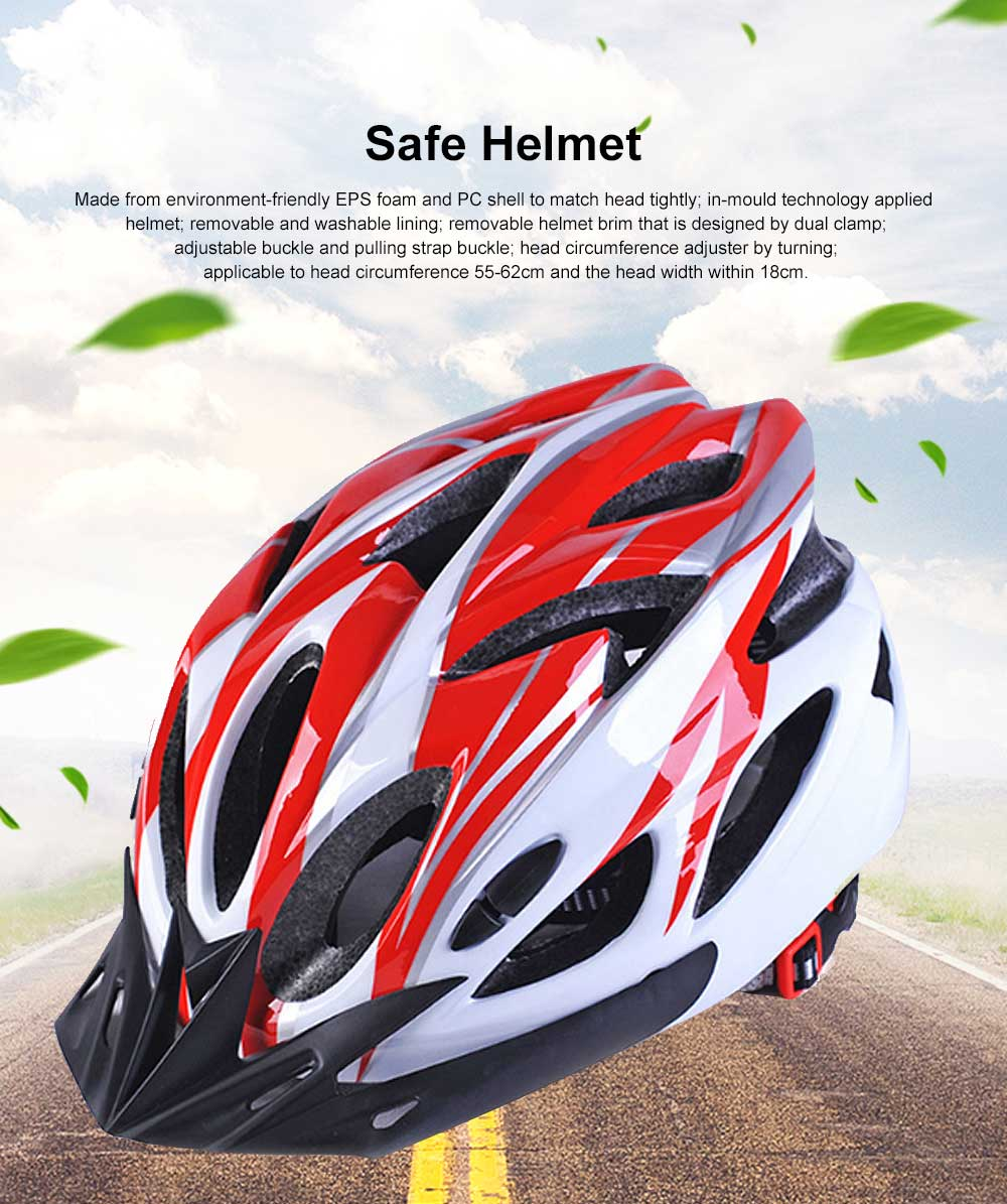 Sports Cycling Helmet for Bicycle Riding One-piece Made Helmet for Mountain Bike Riding Protective Helmet 0