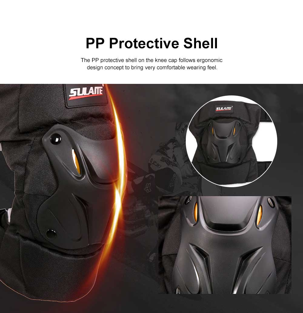 Motorbike Anti-stumbling Kneecap Outdoor Roller Skating Protective Clothing for Knees Heat Resistant Knee Cap Impact Resistant Knee Pads Knee-cap 3