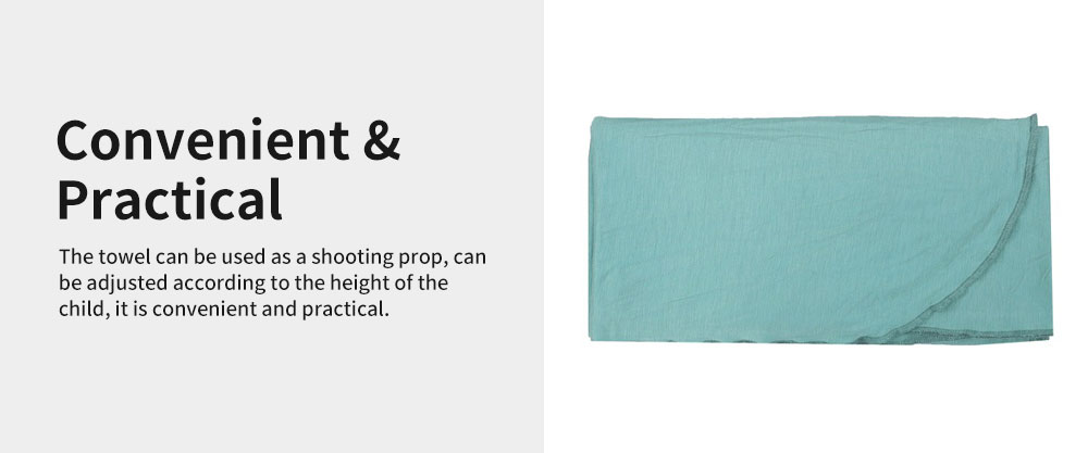Baby Soft Sleeping Bag Wrap Cotton Spandex Material Prevent Shock Wind Wrapped Towels Shooting Prop for Baby 100 Days 4
