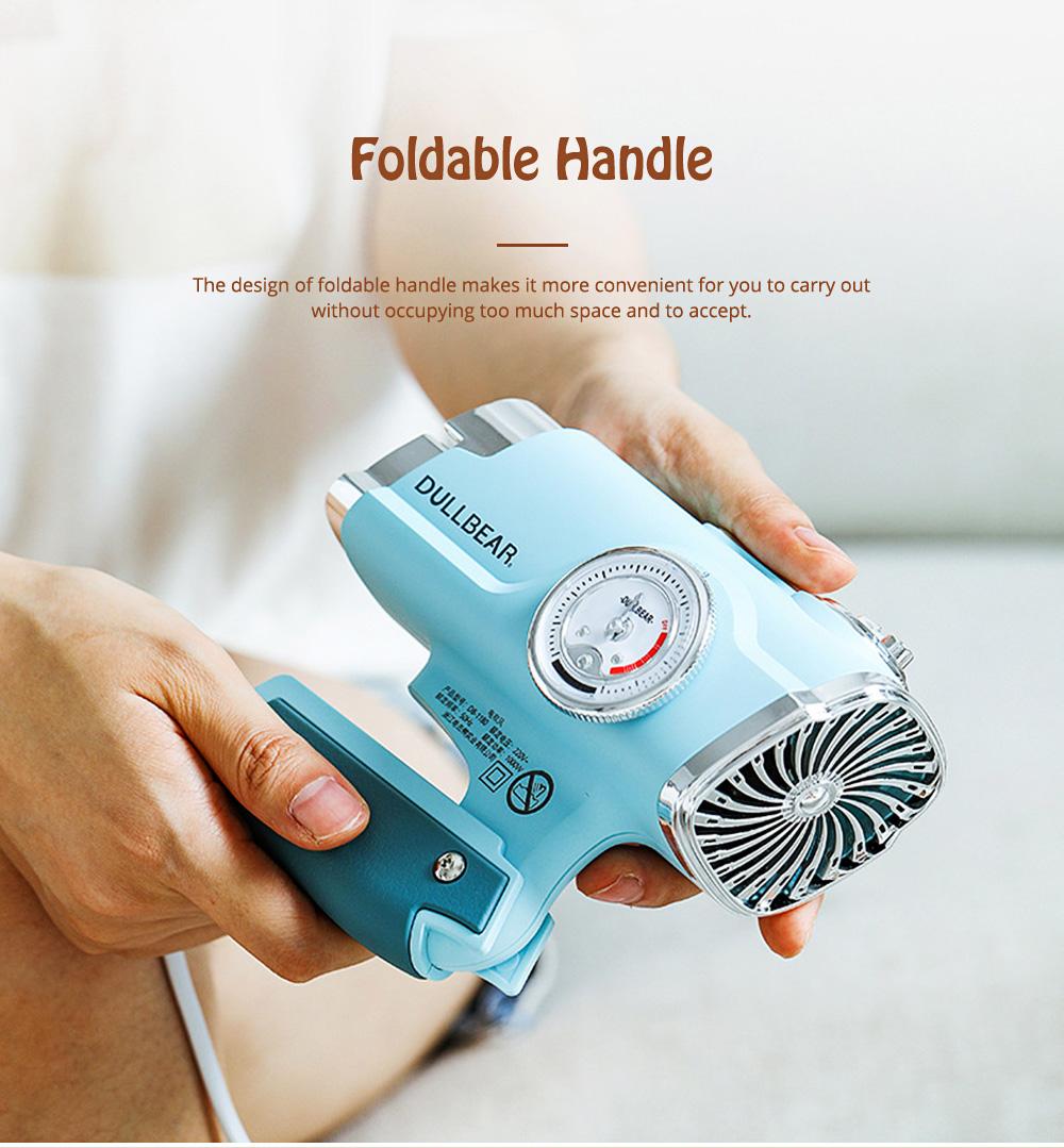 DULLBEAR Negative Ion Hair Dryer Small Portable Folding Home Travel Hairdryer 6
