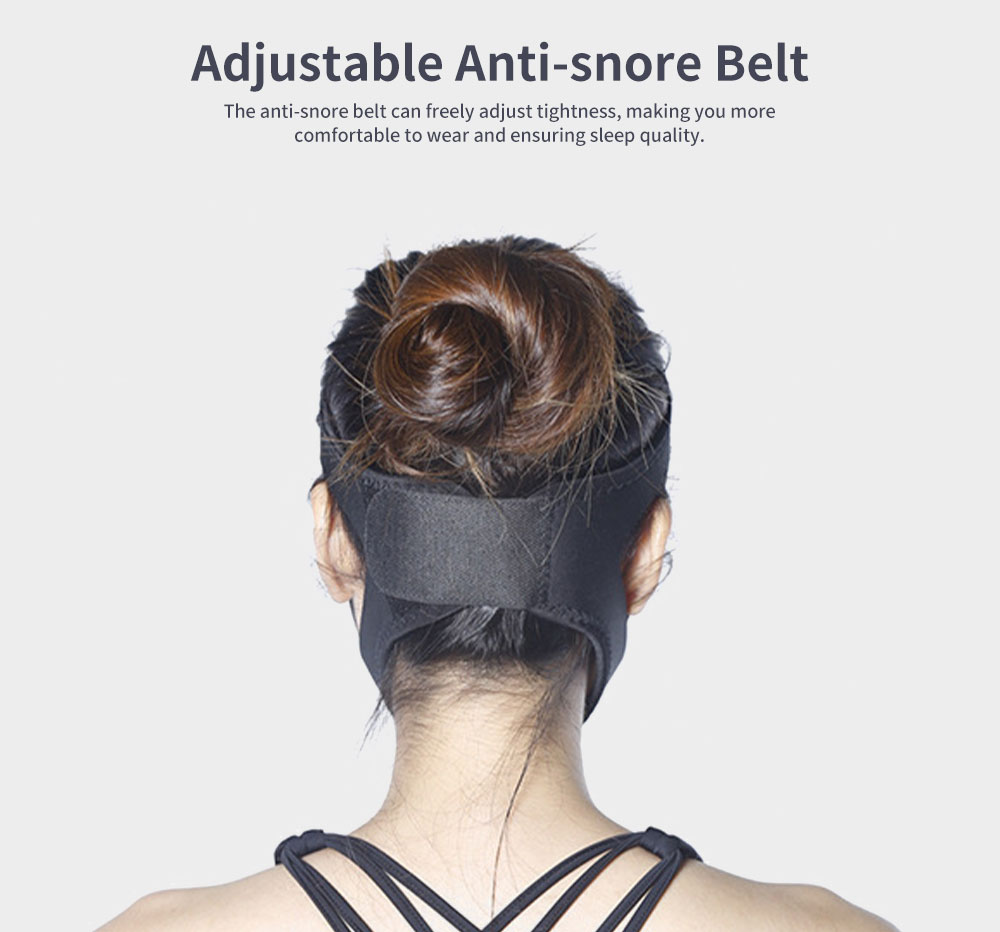 Anti-snore Belt Stop Snoring Soft Chin Strap Jaw Support Anti Apnea Adjustable Solution Sleeping Device Aid Tools 4