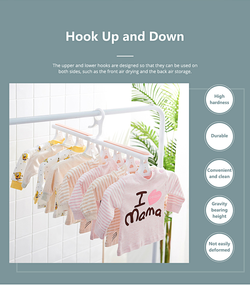 Dual-purpose Folding Hanger 14 Head Extensible Magic Hangers for Children and Adults Internet Explosive Clothes Hanger 3