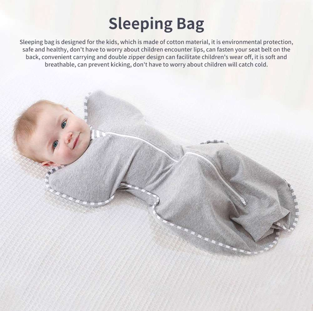 Bunting Cotton Material Shape Anti Frightened Scarf Soft Swaddle Breathable for Baby Sleeping Bag 0
