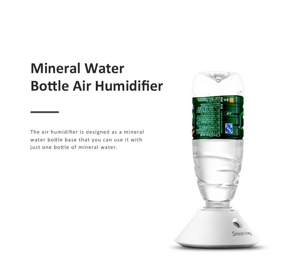 Portable Air Humidifier, Domestic Mini Mineral Water Bottle Based Air Moistener for Home and Office 1