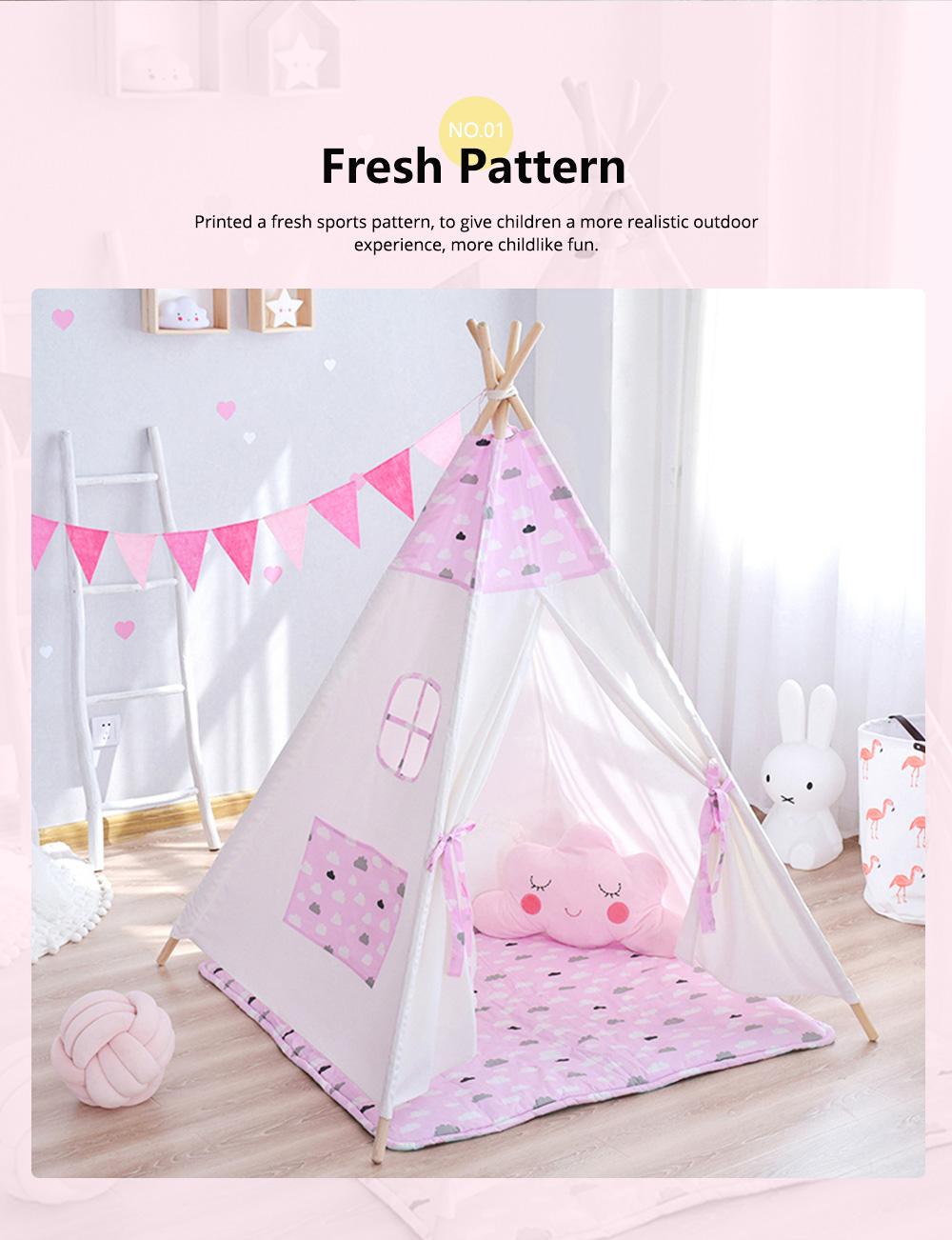 Children's Tent Baby's Indoor Cloth Toy Princess Room Game Room Reading Corner 1