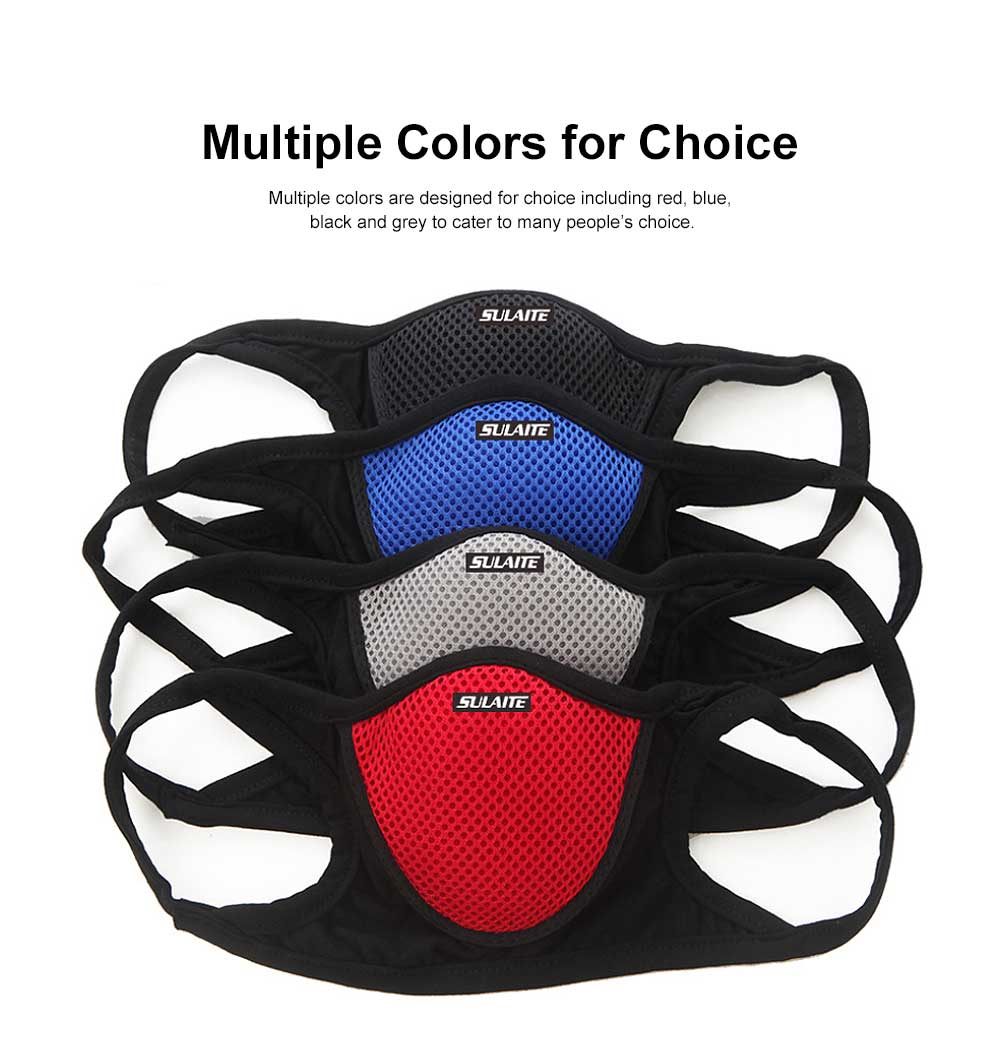 SULAITE Anti-dust & Anti-smog Masks for Outdoor Bicycle Riding Sand Prevention Protective Gauze Mask Breathable Comfortable Mouth-muffle PM2.5 Respirator 4
