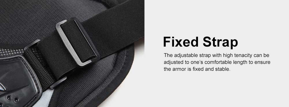 Motocross Body Armor for Roller Skating Motorbike Riding Combined Back and Spine Protector Sports Safety Armor Racing Safety Armor Chest Protector 5