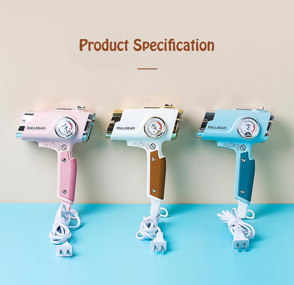 DULLBEAR Negative Ion Hair Dryer Small Portable Folding Home Travel Hairdryer 7