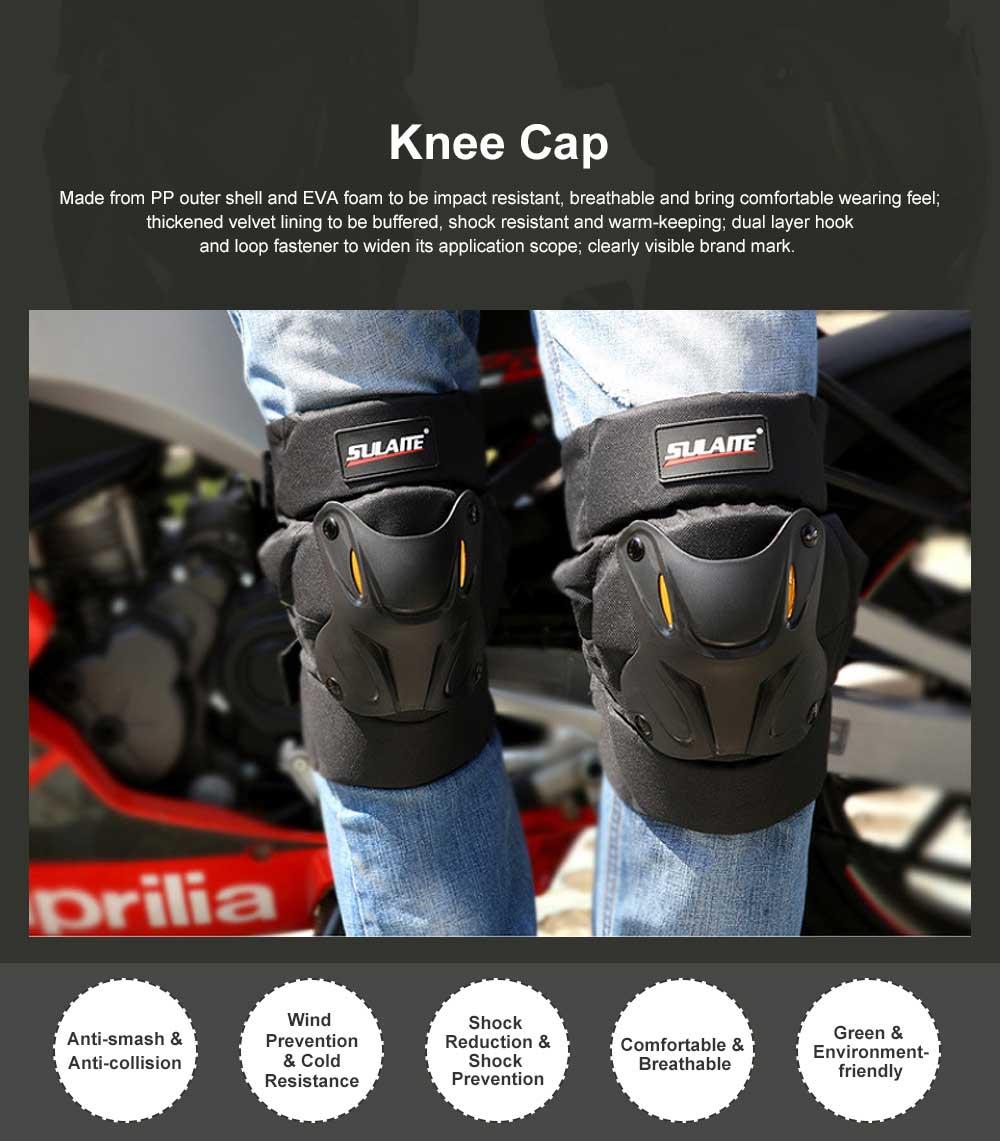Motorbike Anti-stumbling Kneecap Outdoor Roller Skating Protective Clothing for Knees Heat Resistant Knee Cap Impact Resistant Knee Pads Knee-cap 0
