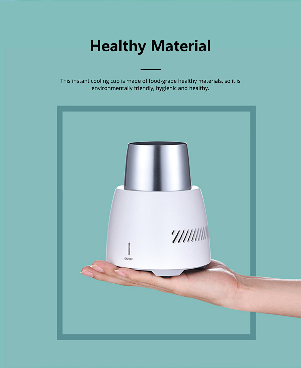 Quick Refrigeration Cup Small Household Desktop Cooler Home Appliances Water Bottle Instant Cooling Cup Instant Ice Cup 3
