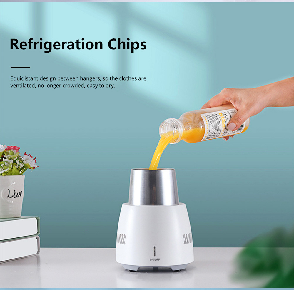 Quick Refrigeration Cup Small Household Desktop Cooler Home Appliances Water Bottle Instant Cooling Cup Instant Ice Cup 5
