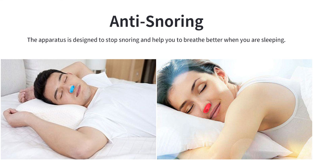Anti-Snoring & Air Purifier Apparatus, 2 In 1 Sleep Breathe Difficulties Helper, Snore Stopper for Healthy Breath and Sleep 1