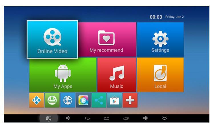 MXQ-4K H3 Android 7.1 TV Box 2GB 16GB Quad Core 4K Wifi Bluetooth H.265 Smart Set Top MXQ Box Network Player Kodi Google  2