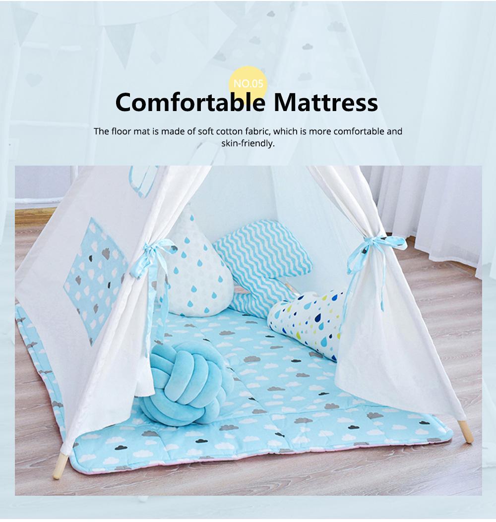 Children's Tent Baby's Indoor Cloth Toy Princess Room Game Room Reading Corner 6