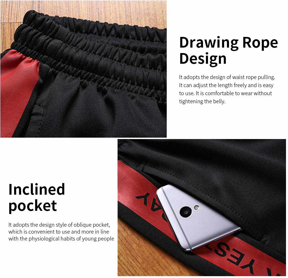 Men's Sports Style Shorts Students' Five-Point Shorts New Fashion Simple & leisure Pants For Summer 6