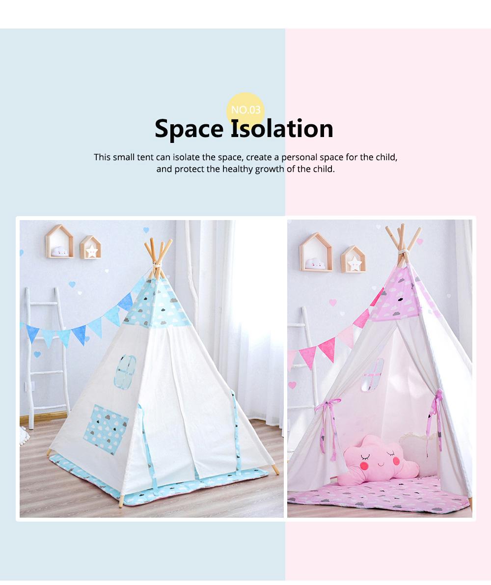 Children's Tent Baby's Indoor Cloth Toy Princess Room Game Room Reading Corner 4