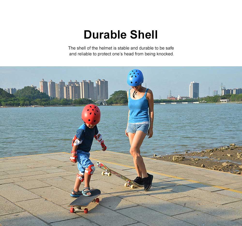Roller Skating Helmet for Adult Children, Crash Helmet for Sliding Plate Floating Professional  Headpiece for Hip-hop Head Protector 1
