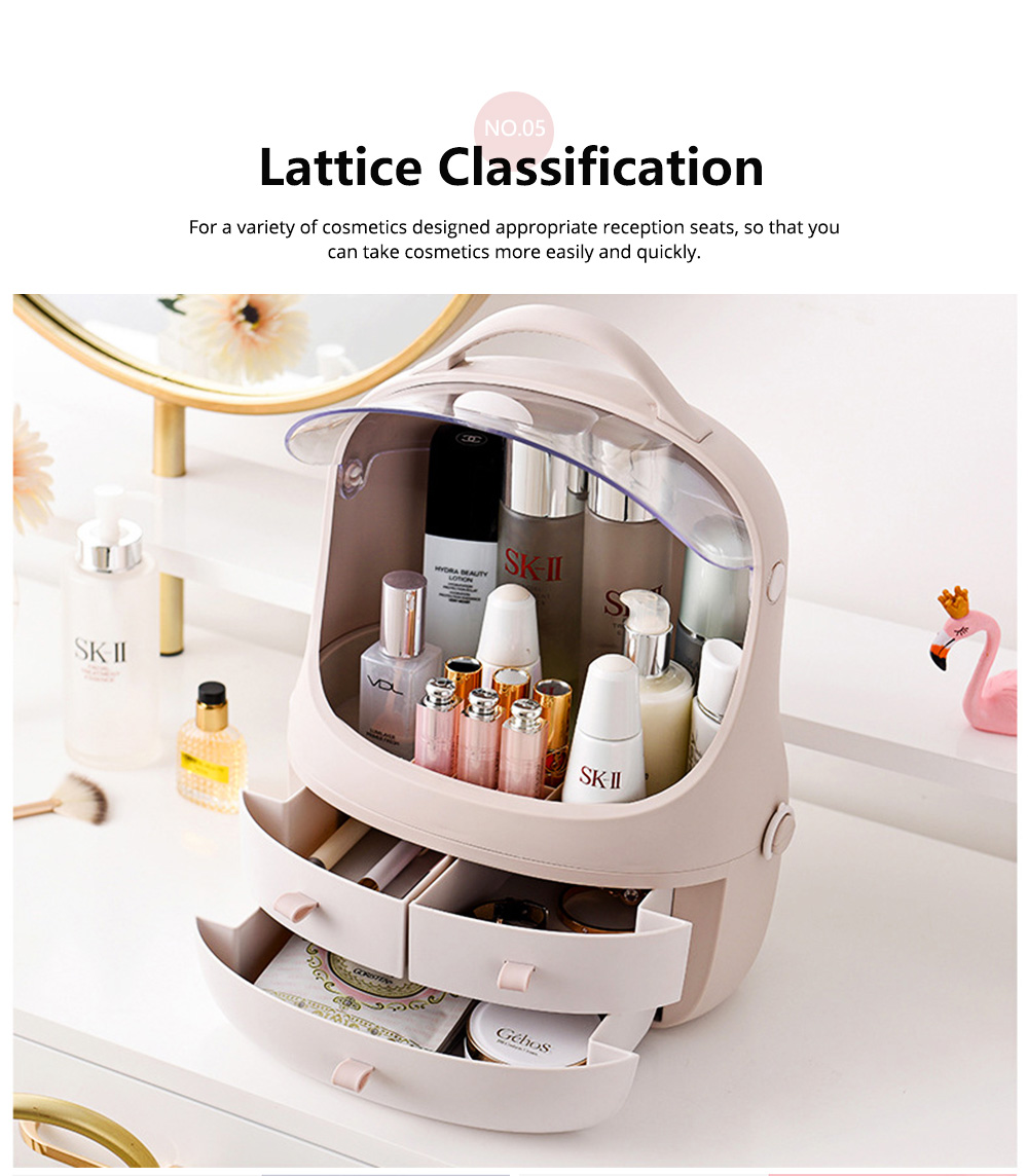 Penguin Drawer Cosmetics Box Space Capsule Cosmetic Box Cosmetic Receiving Storage Box 5