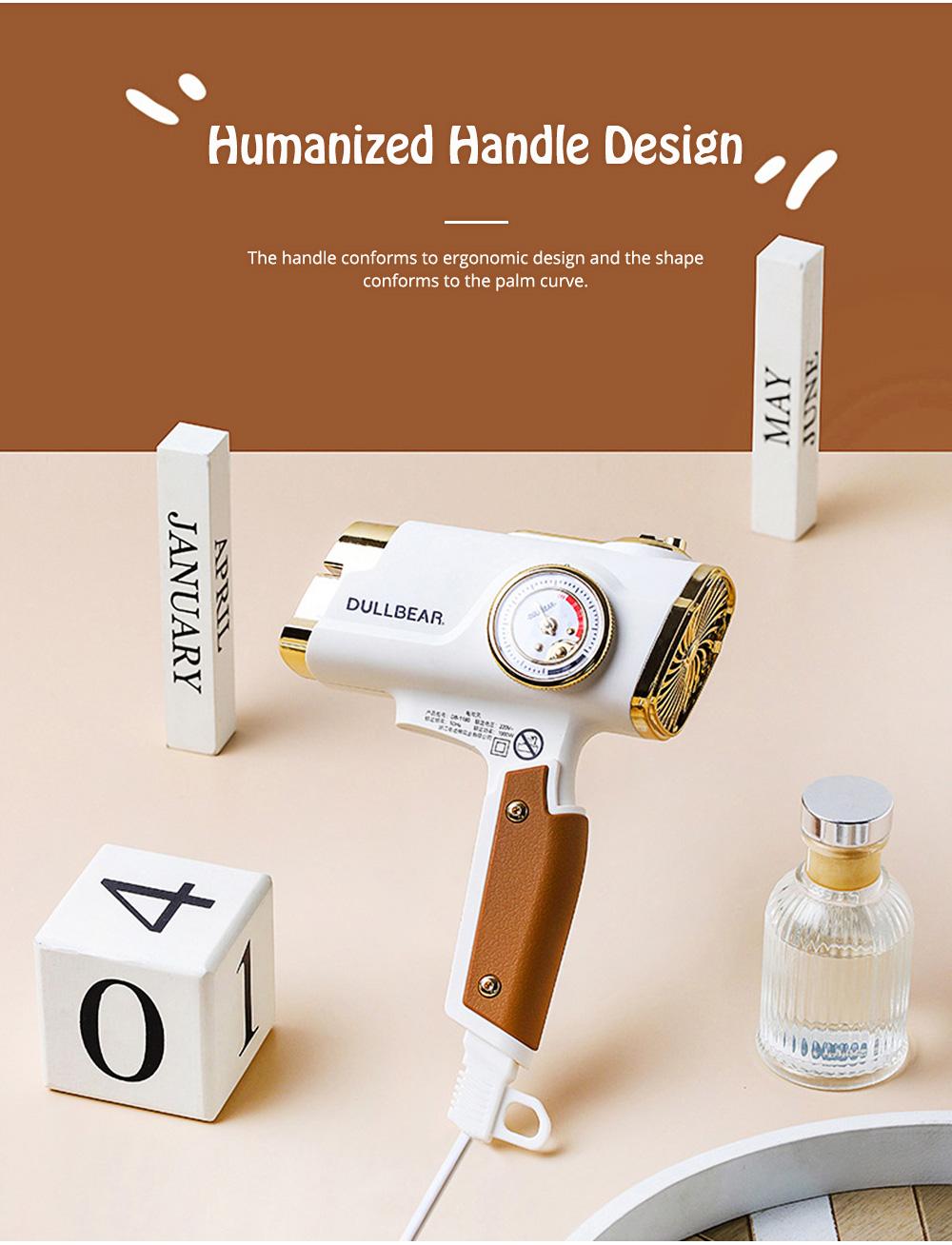 DULLBEAR Negative Ion Hair Dryer Small Portable Folding Home Travel Hairdryer 5