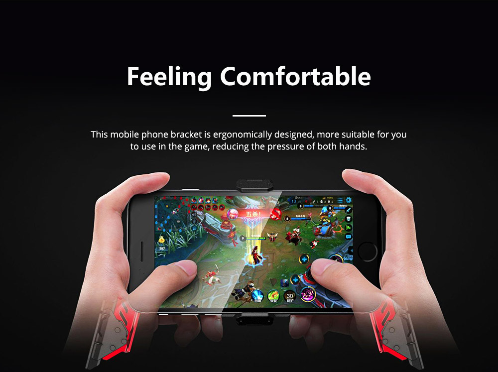 Mobile Game Handle CRAB Second Generation Mobile Phone Game Support Universal Game Handles 2