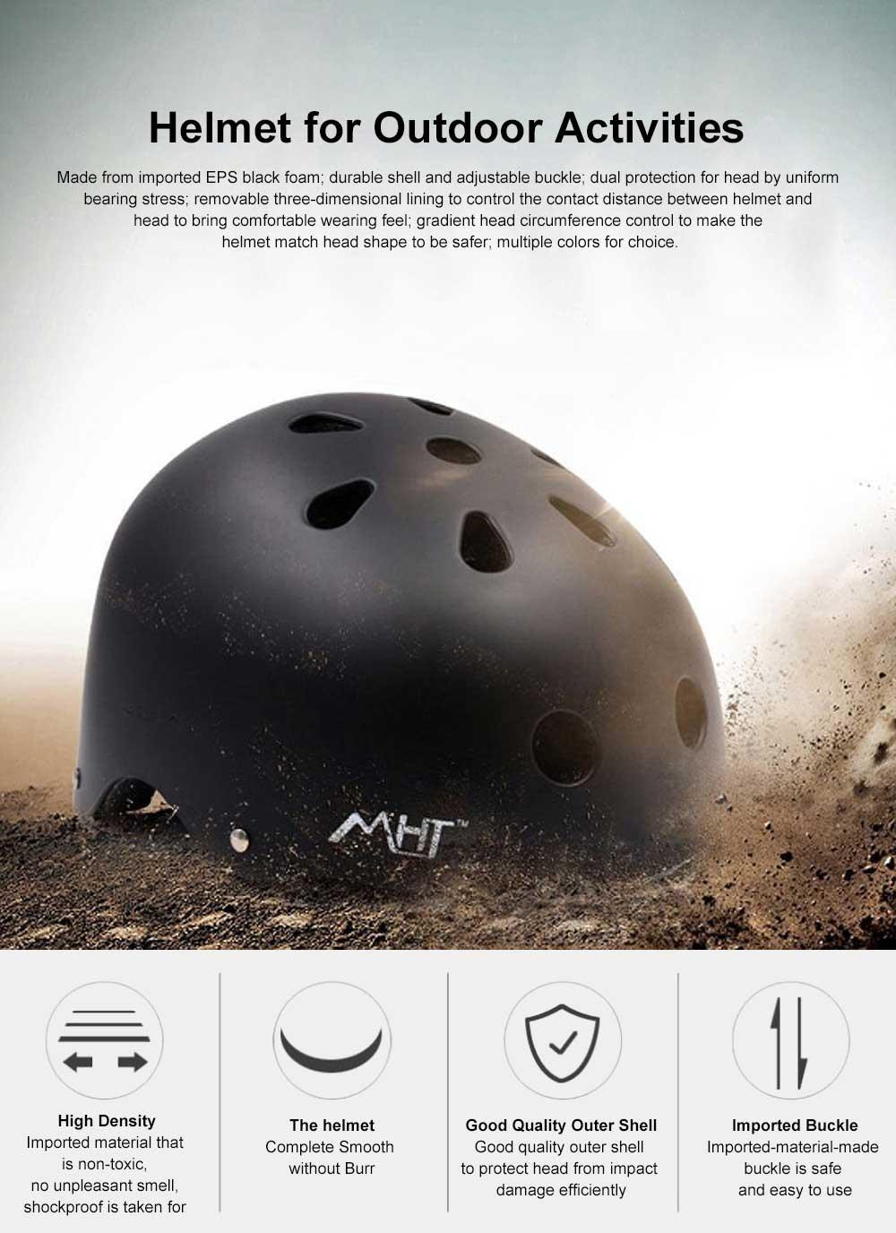 Roller Skating Helmet for Adult Children, Crash Helmet for Sliding Plate Floating Professional  Headpiece for Hip-hop Head Protector 0