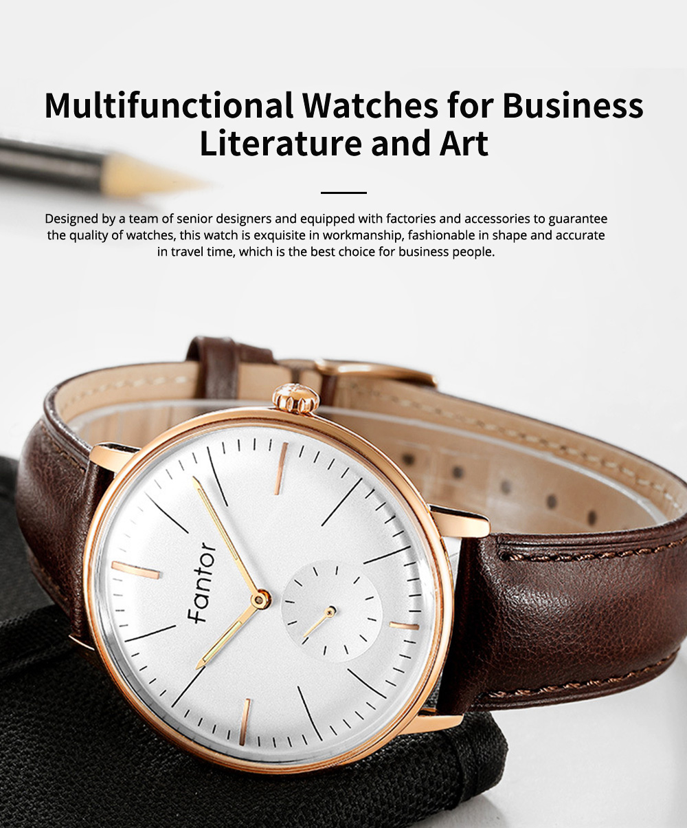 Multifunctional Watches for Business Literature and Art, Recreational Simple Curved Quartz Brand Authentic Watches 0