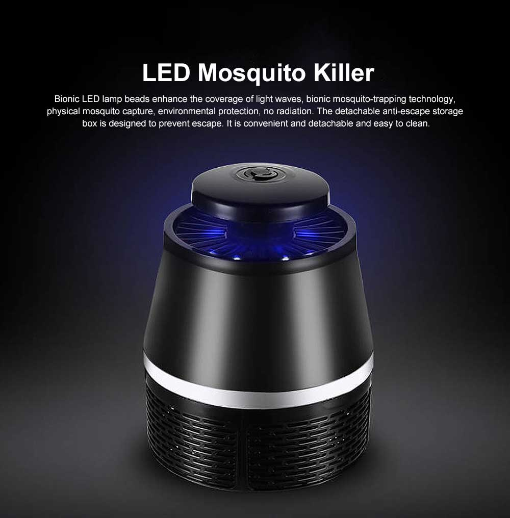 LED Mosquito Killer Light Non-Toxic Odorless ABS Household Light Touch Mosquito Lamp USB Mosquito Lamp 0