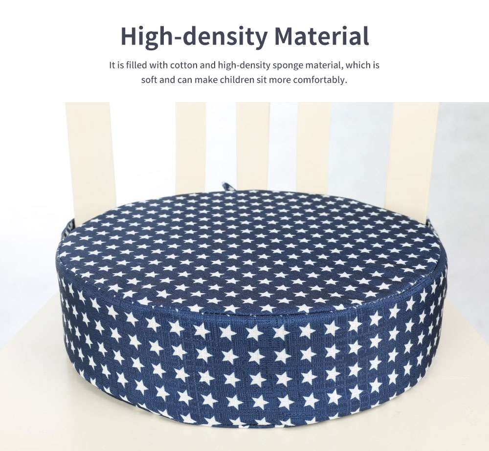 Seat Cushion Cotton Material Round Shape Seat-worm Soft Saddle Elastics for Kids with Banding Seating Washer 1