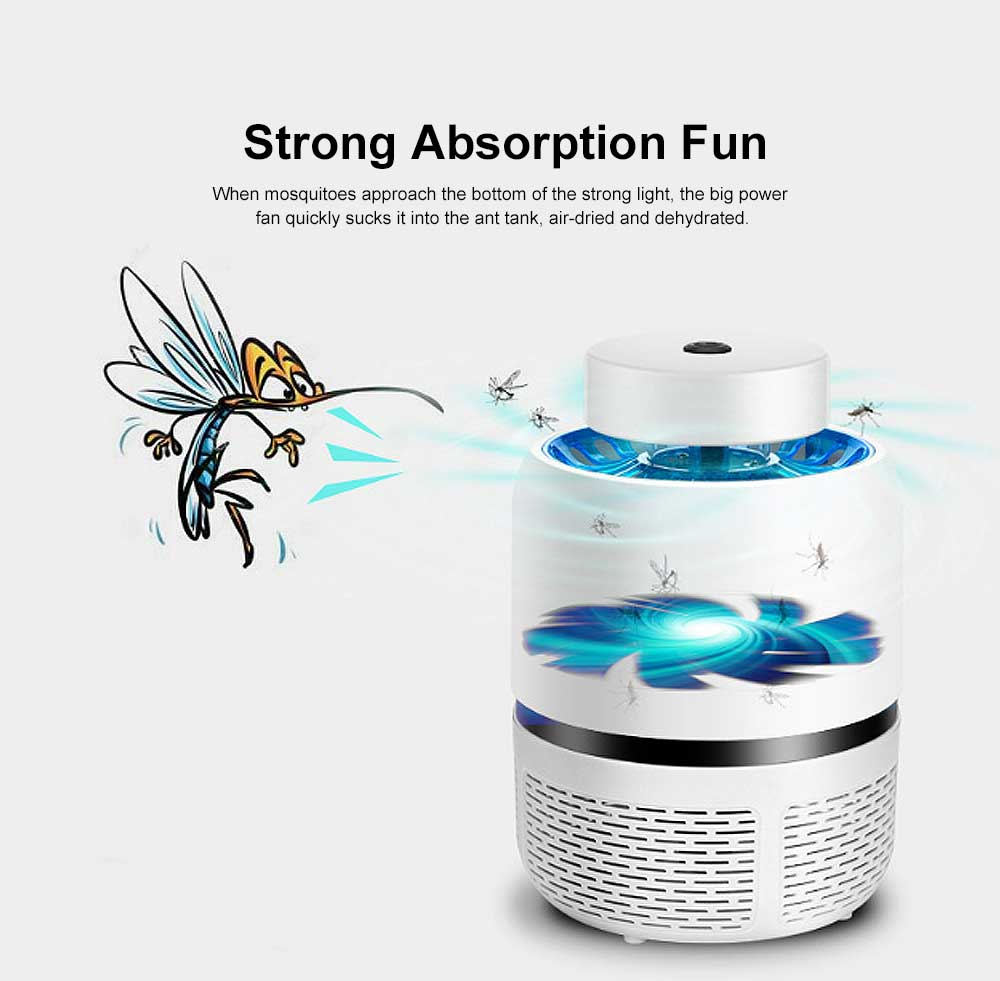Intelligent Light Control USB Mosquito Lamp Safe Photocatalytic Mosquito Killer Lamp LED Light for Home Use 2