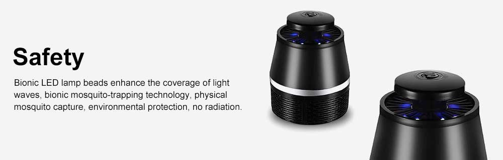 LED Mosquito Killer Light Non-Toxic Odorless ABS Household Light Touch Mosquito Lamp USB Mosquito Lamp 5